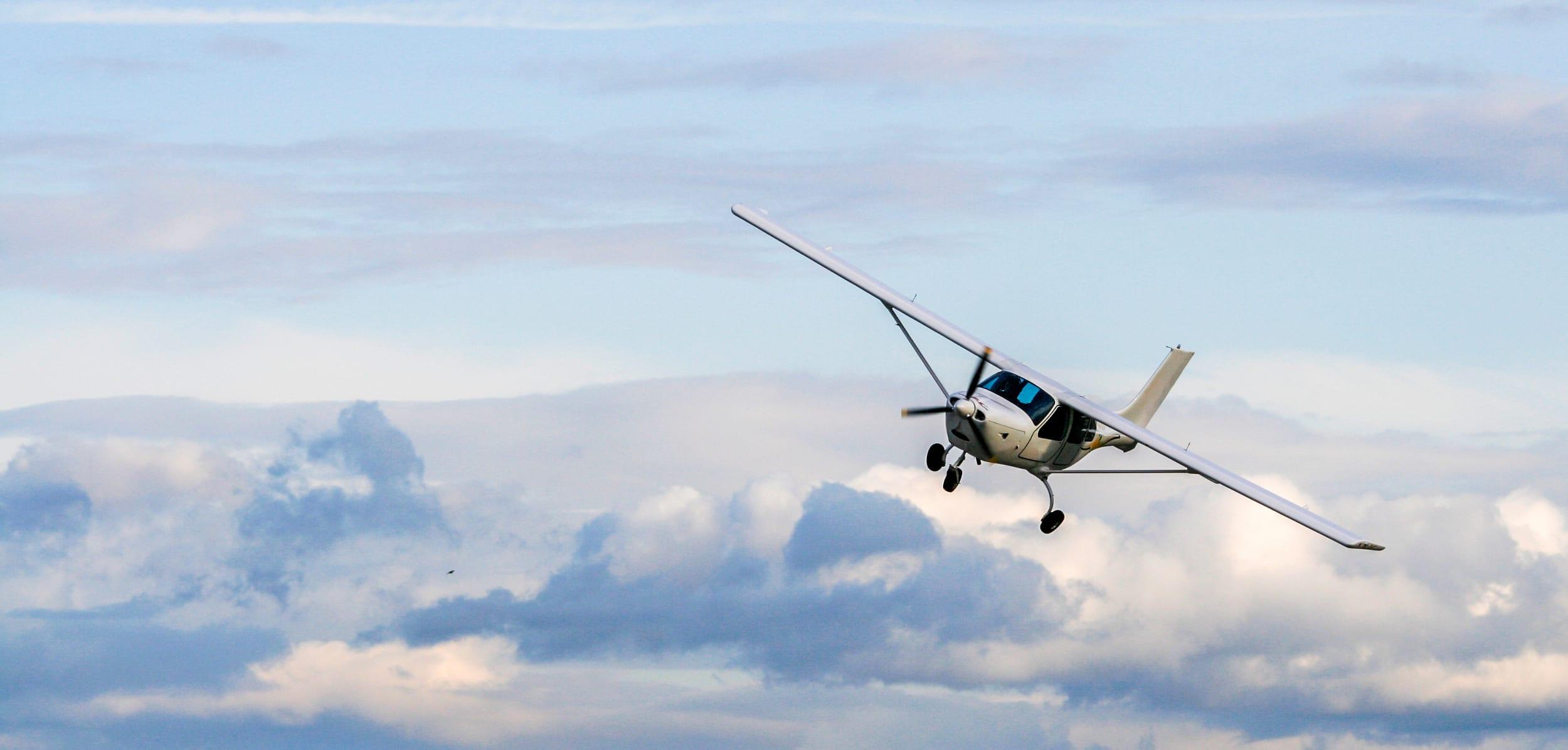 Airborne at last!
